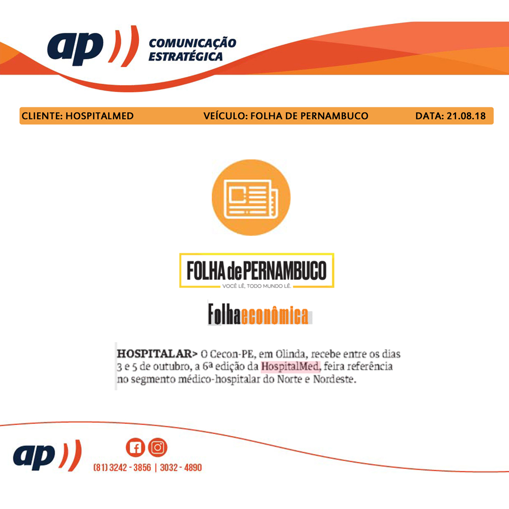 21.08.18 - FOLHA DE PERNAMBUCO