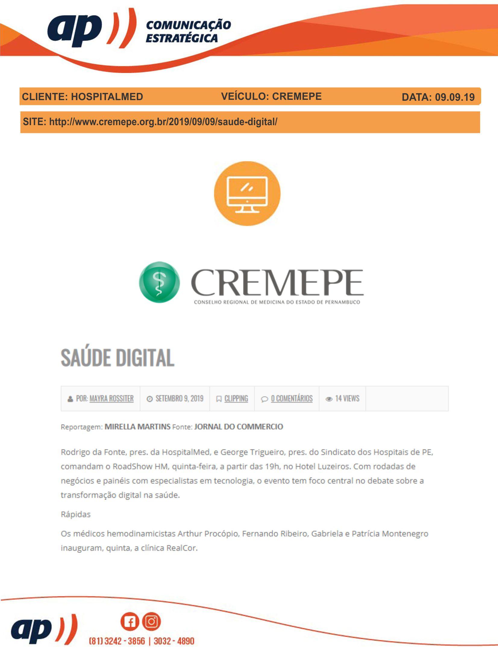 09.09.19 - CREMEPE