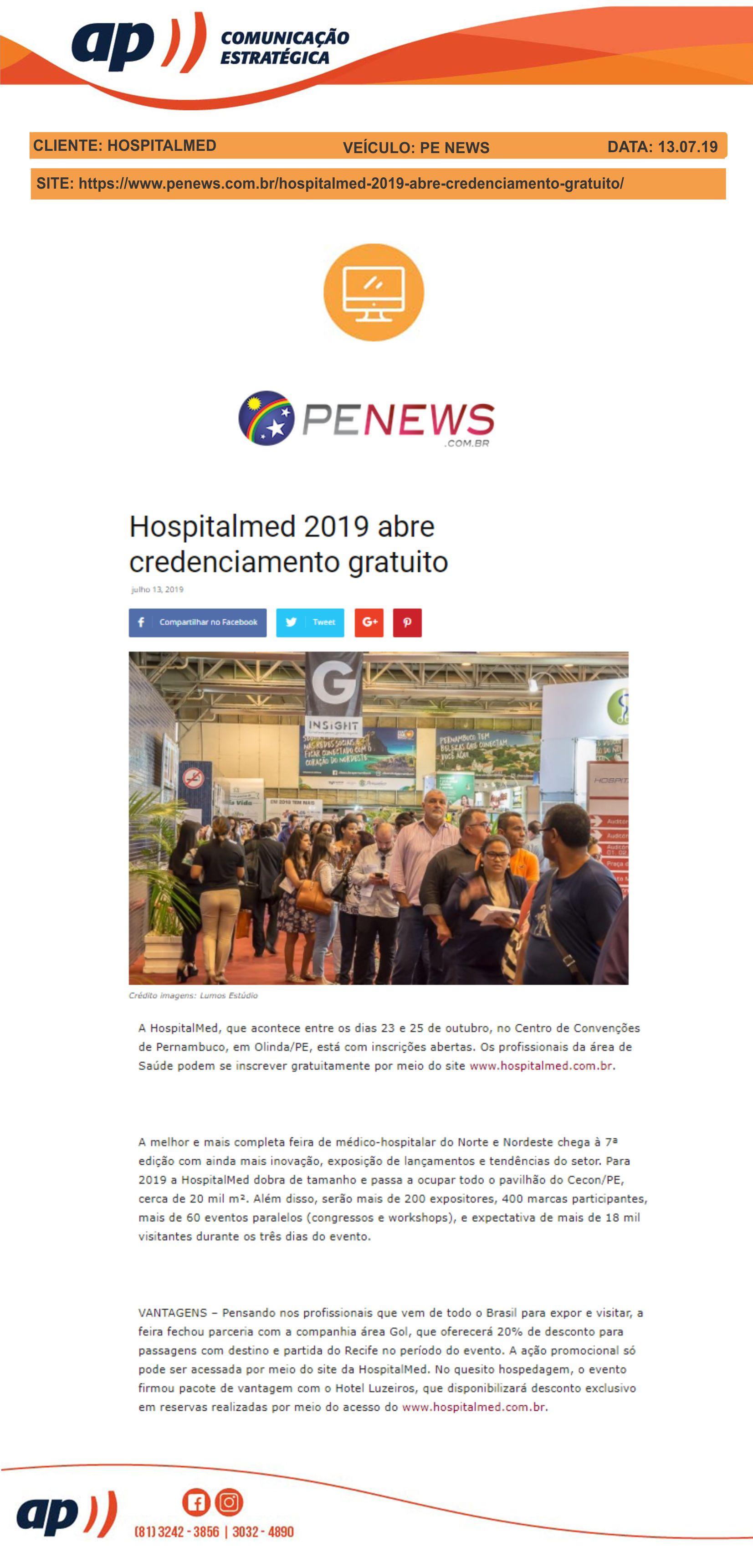 13.07.19 - PE NEWS