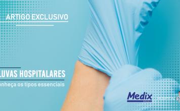 Tipos de luvas hospitalares